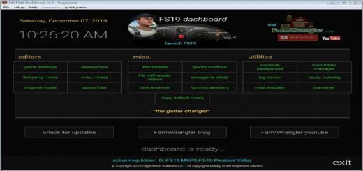 Photo of FS19 – Dashboard V2.4
