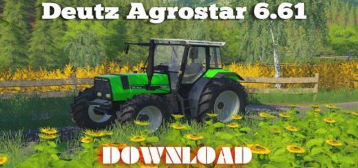 Photo of FS19 – Deutz Agrostar 6.61 Tractor V1
