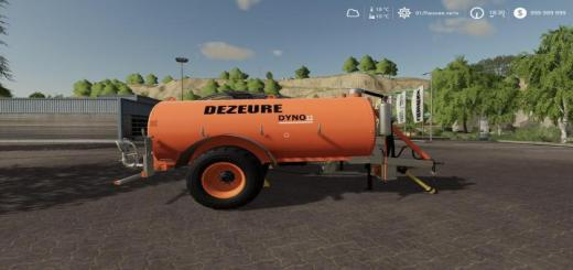 Photo of FS19 – Dezeure Dyno 12 V1.1