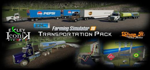 Photo of FS19 – Eal Transportation Pack V1