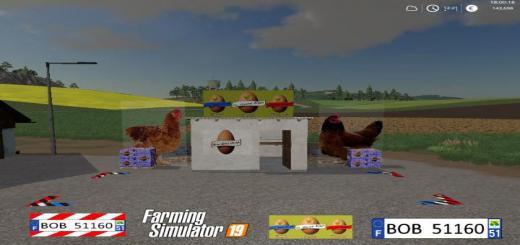 Photo of FS19 – Egg Sale Point V1