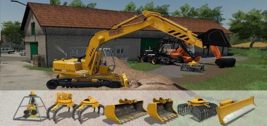 Photo of FS19 – Excavator Liebherr 902 Pack V1.0.0.1