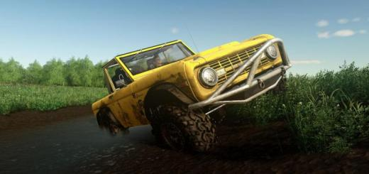 Photo of FS19 – Exp19 Ford Bronco\'66 Crawler V1