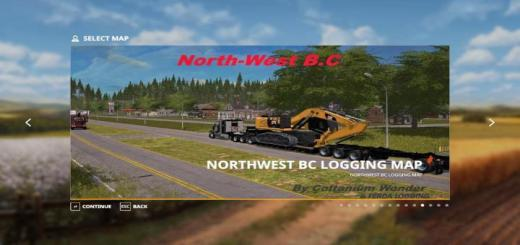 Photo of FS19 – Ferda Logging Northwest Bc Logging Map V1