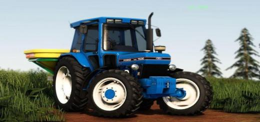 Photo of FS19 – Ford 7630 Tractor V1