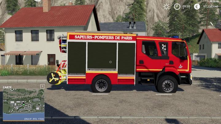 FS19 - Fpt Pompiers De Paris Bspp V1
