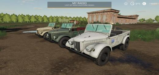 Photo of FS19 – Gaz-69 V1