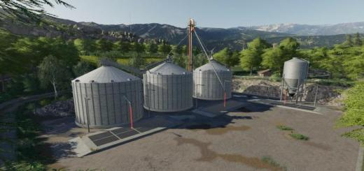 Photo of FS19 – Grain Silo Set With Multifruit V1.1