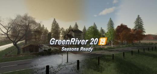 Photo of FS19 – Greenriver 2019 Map V1.0.1.0