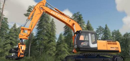 Photo of FS19 – Hitachi Zaxis 290 Lcn-5 V1