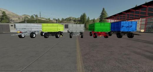 Photo of FS19 – Hw 8011 Trailer V5