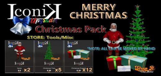 Photo of FS19 – Iconik Christmas Pack V1