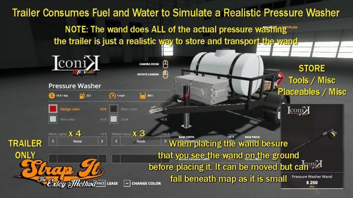 FS19 - Iconik Pressure Washer V1