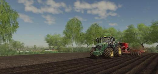Photo of FS19 – John Deere 6R Tractor V1