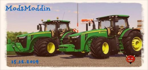 Photo of FS19 – John Deere 8R Serie V1.5