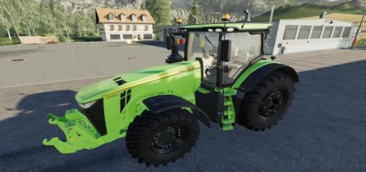 Photo of FS19 – John Deere 8R Tractor V1