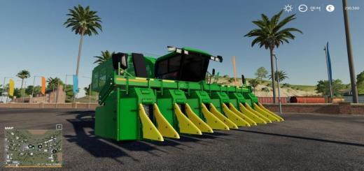 Photo of FS19 – John Deere 9965 Cotton Picker 6 Row Convert Beta