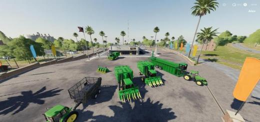 Photo of FS19 – John Deere 9970 Cotton Pack Test V1