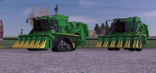 Photo of FS19 – John Deere Cp690 With Tracks And New Duals Final