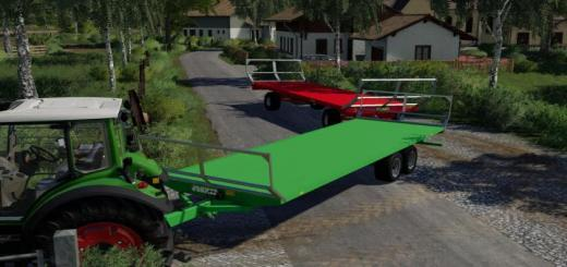 Photo of FS19 – Joskin Wago St8000D12 Trailer V1