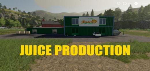 Photo of FS19 – Juice Production V1