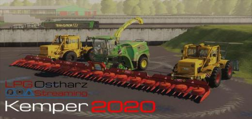 Photo of FS19 – K700 / Matching Jd Chipper / Kemper 2020 Pack V1