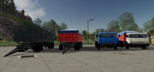 Photo of FS19 – Kamaz 55102 Truck V1.2