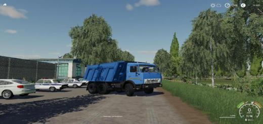 Photo of FS19 – Kamaz 55111 Truck V1.7