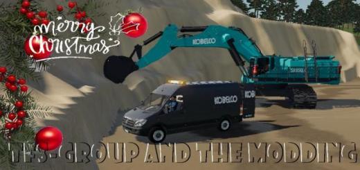 Photo of FS19 – Kobelco Sk850Lc Excavator V1.5