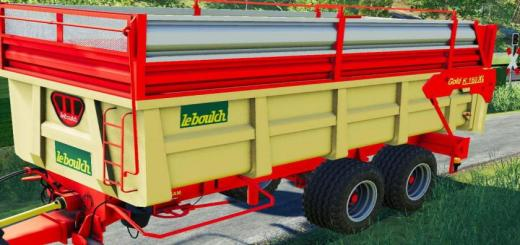 Photo of FS19 – Leboulch K160 Xl Trailer V1