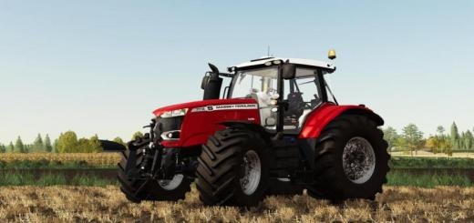 Photo of FS19 – Massey Ferguson 7700S Tractor V1.2