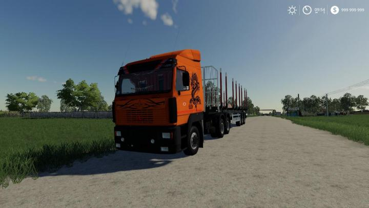 FS19 - Maz 5440 A8 And A9 Truck V1