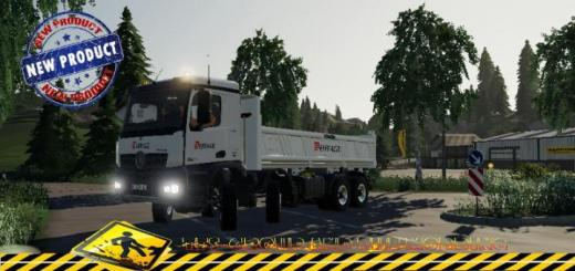 Photo of FS19 – Mercedes Arocs Benne Eiffage V1.5