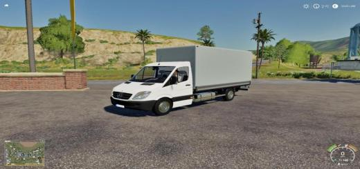 Photo of FS19 – Mercedes Sprinter Pickup V1