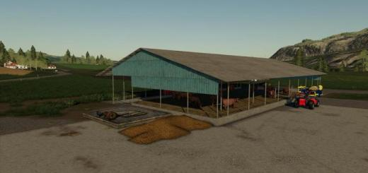 Photo of FS19 – Metal Cows Barn V1