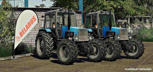Photo of FS19 – Mtz-1221 Belarus Tractor V1.0.0.1