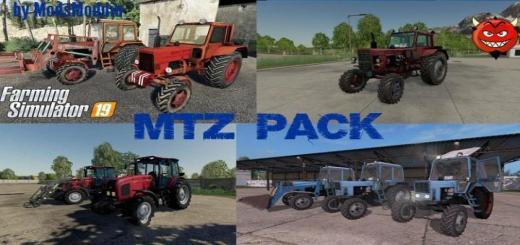 Photo of FS19 – Mtz Belarus New Pack V1