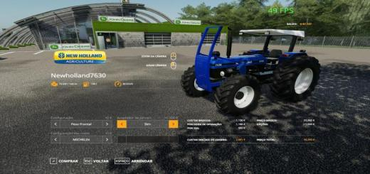 Photo of FS19 – New Holland 7630 Tractor V1