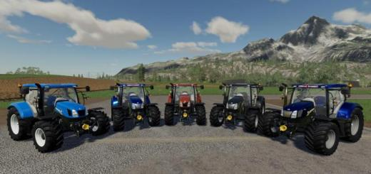 Photo of FS19 – New Holland T6 Tractor V1