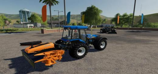 Photo of FS19 – New Holland Tv6070 Tractor V1.1