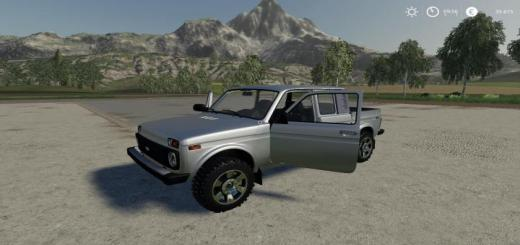 Photo of FS19 – Niva 2309 Pickup V1