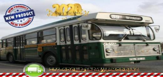 Photo of FS19 – Old French Bus Ratp V1.5