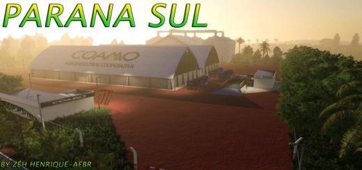 Photo of FS19 – Parana Sul Map V1