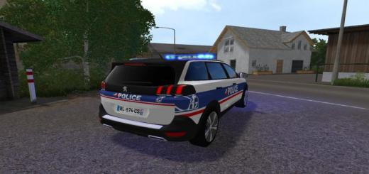 Photo of FS19 – Peugeot 5008 Police National V1
