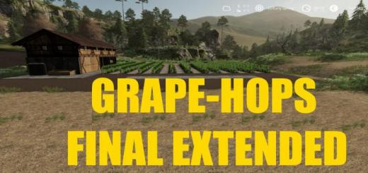 Photo of FS19 – Placeable Grape Production Final Extended