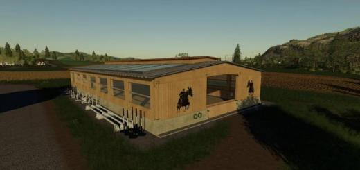 Photo of FS19 – Placeable Riding Hall V1