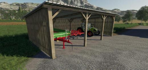 Photo of FS19 – Placeable Small Shed V1