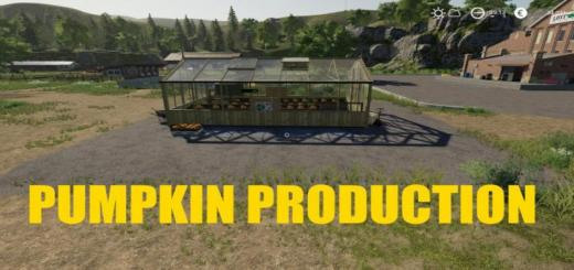 Photo of FS19 – Pumpkin Production V1.0.5