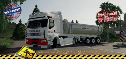 Photo of FS19 – Renault Premium Eiffage V1.5
