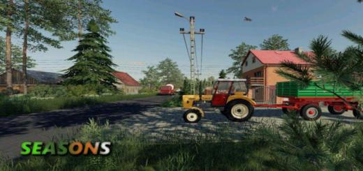 Photo of FS19 – Sandomierskie Okolice Seasons V1